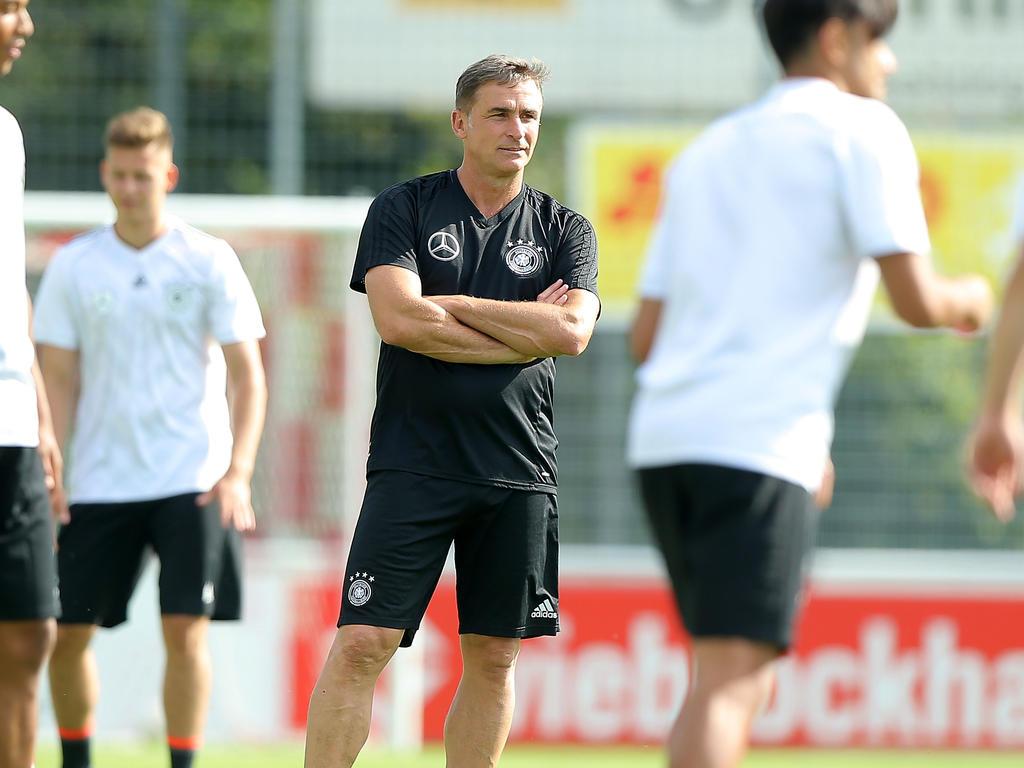 U21-Coach Kuntz will seine Spieler singen lassen