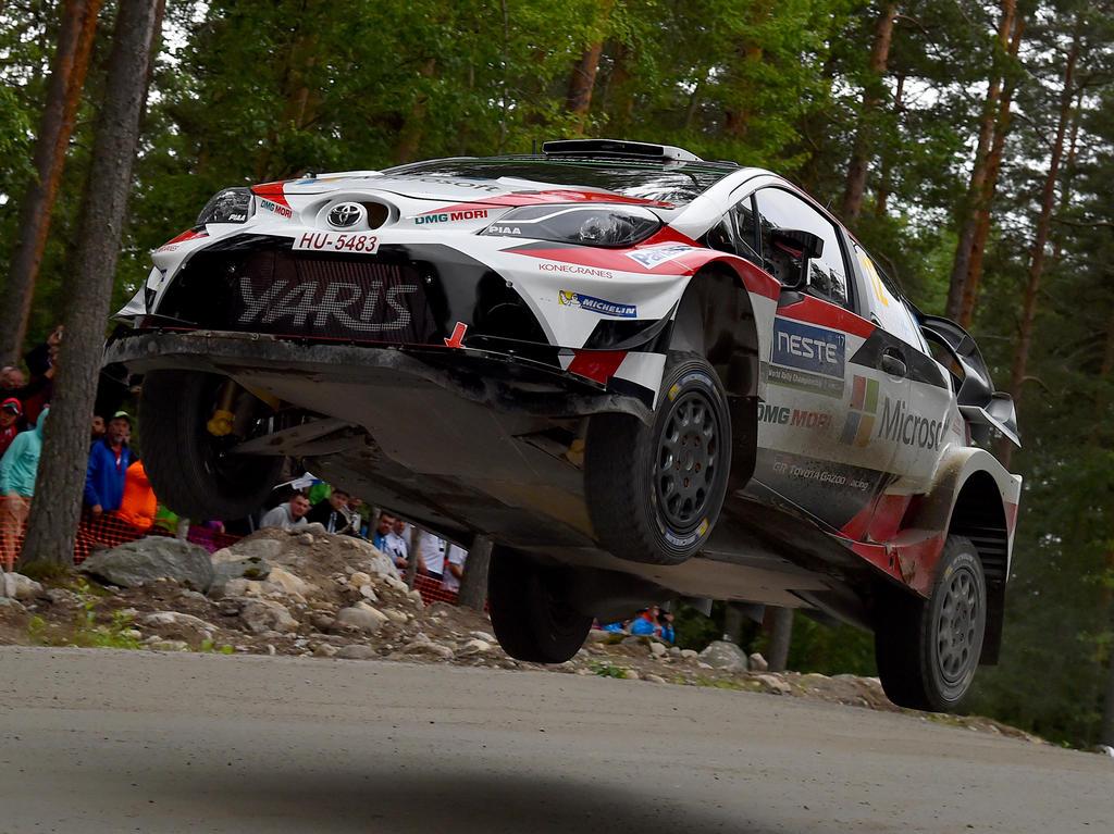 Esapekka Lappi triumphierte überraschend bei der Rallye Finnland