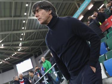 Bundestrainer Löw ist froh über die geglückte WM-Quali