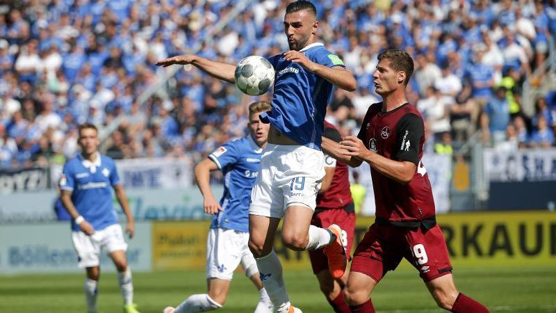 Darmstadt 98 und 1. FC Nürnberg trennen sich 3:3