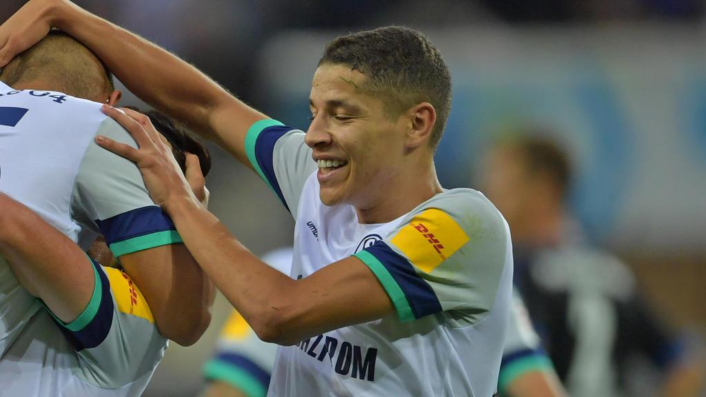 Amine Harit präsentiert sich beim FC Schalke 04 in Top-Form
