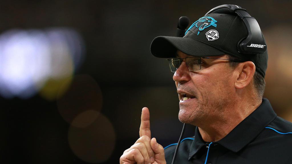 Ron Rivera ist kein Coach der Panthers mehr