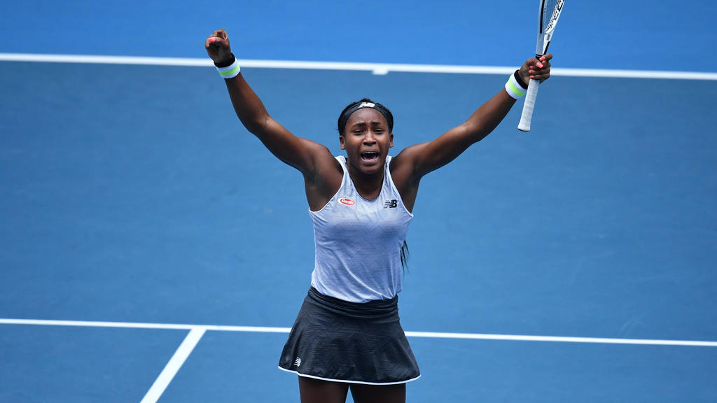 Cori Gauff sorgte bei den Australian Open für eine große Überraschung