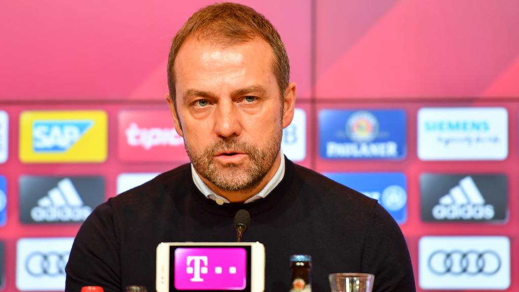 Hansi Flick hat sich zur Lage beim FC Bayern geäußert