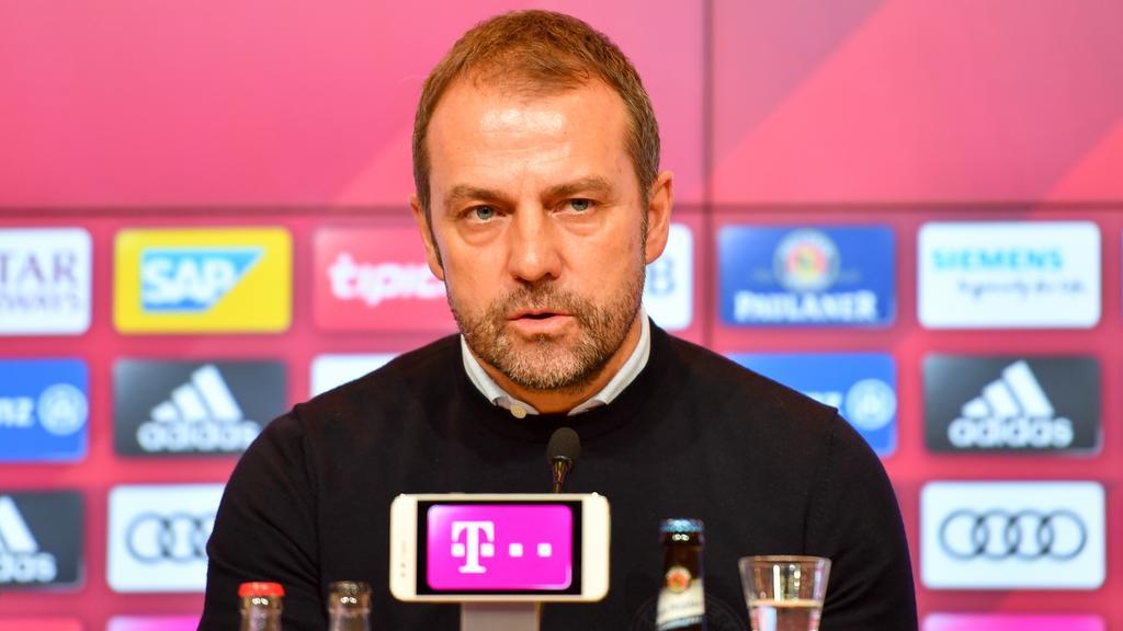Hansi Flick muss mit dem FC Bayern bei Hertha BSC ran