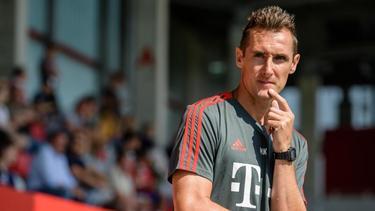 Vermisst bei vielen Nachwuchsfußballern den letzten Biss: Miroslav Klose