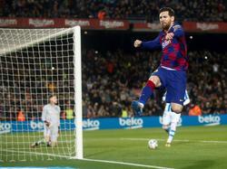 Messi volvió a ser decisivo en el Camp Nou.
