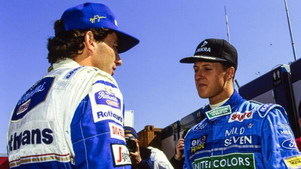 Ayrton Senna und Michael Schumacher in einem Team? Nein, danke!