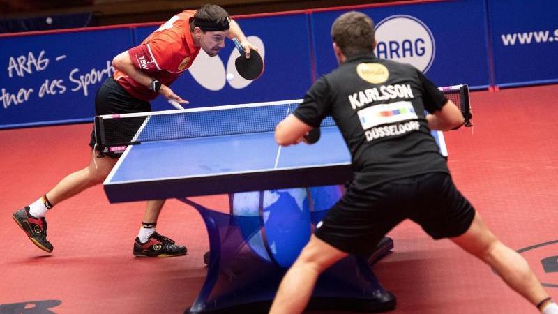 Timo Boll besiegte im Halbfinale den Schweden Kristian Karlsson