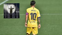 Wilde Spekulationen um seine Person: Lionel Messi