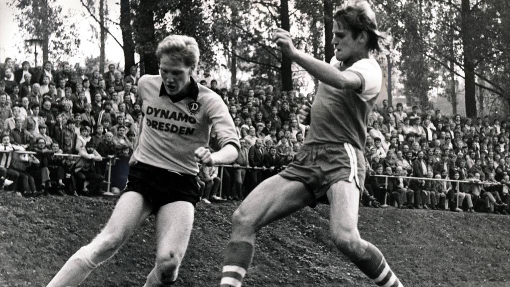 Matthias Sammer war einer der Stars der DDR-Oberliga
