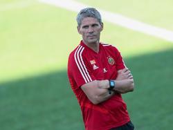 Rapid-Trainer Dietmar Kühbauer wird mit seiner Mannschaft nach Belgien reisen
