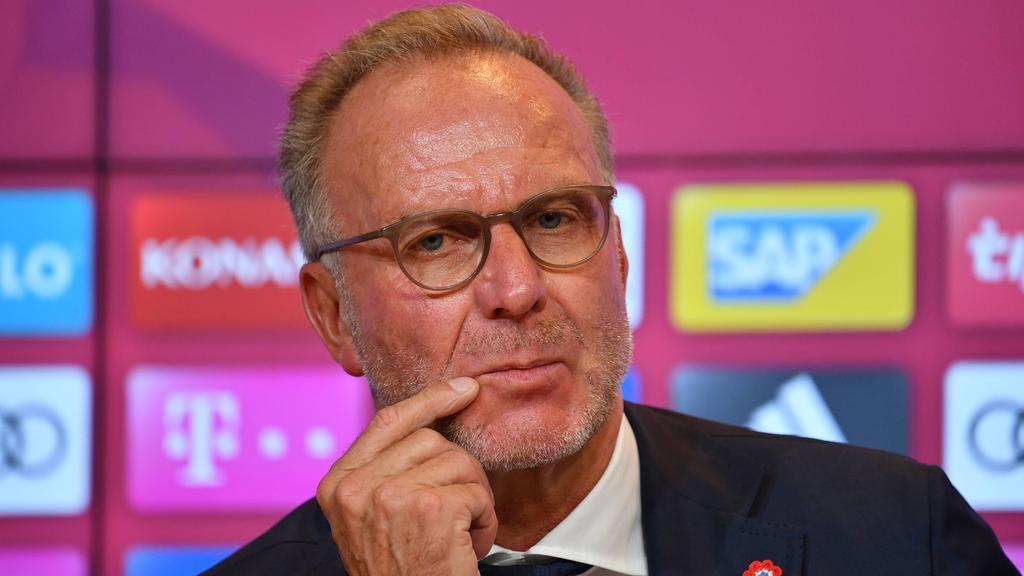 Karl-Heinz Rummenigge stand Rede und Antwort
