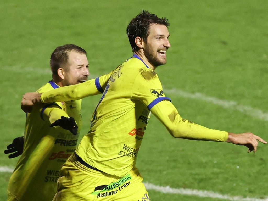 Philipp Wendler gelang das Siegtor gegen Klagenfurt