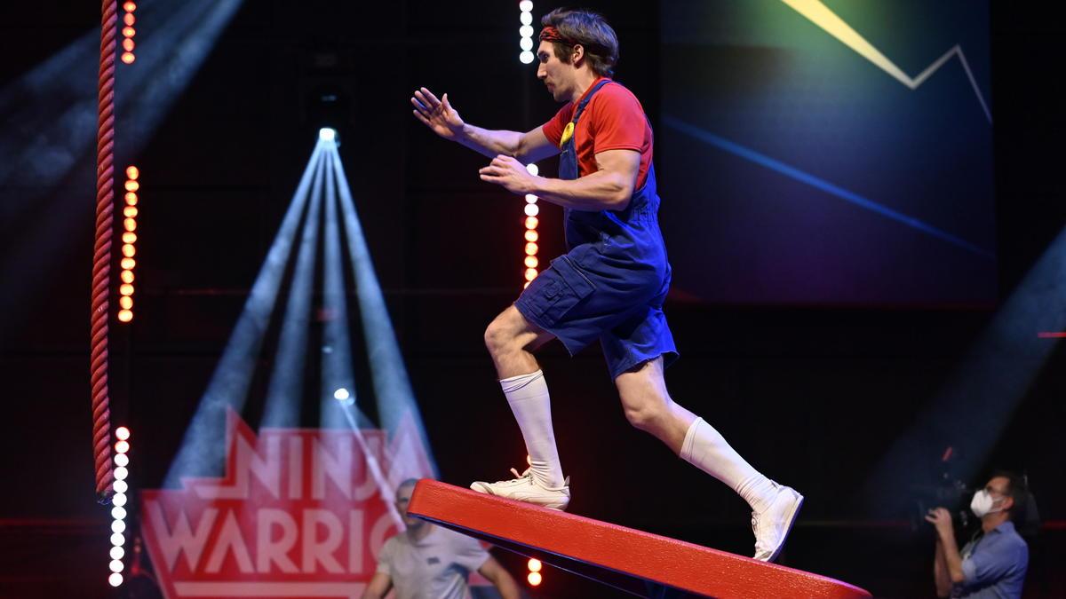 Christian Balkheimer war bisher in jedem deutschen Ninja-Warrior-Parcours unterwegs