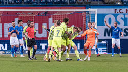 Hansa Rostock kassierte in letzter Minute den Ausgleich