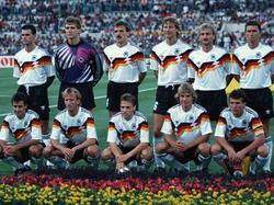 Die Startelf im Finale 1990