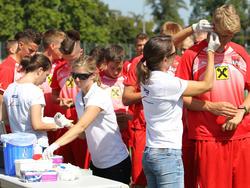 In der Vorbereitung auf die U19-EM fließt sogar Blut