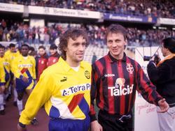 1995: Thomas Doll und Andreas Thom