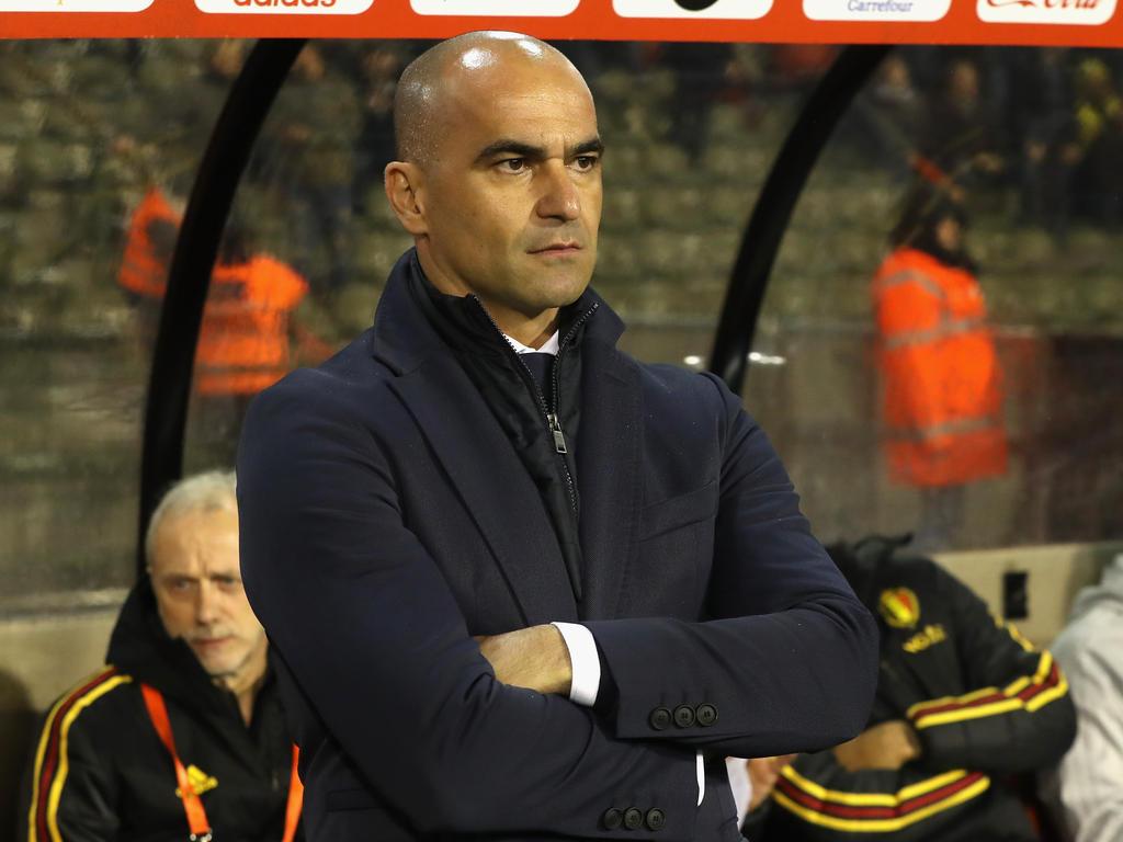 Mit Belgien in Russland angekommen: Trainer Roberto Martínez