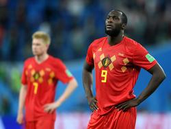 Los jugadores belgas tras el final del partido. (Foto: Getty)