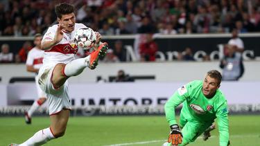 Mario Gomez konnte beste Chancen nicht verwerten