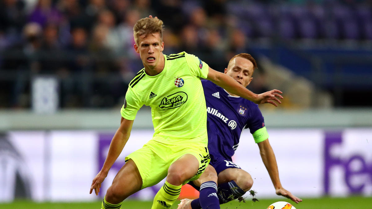 Dani Olmo (l.) soll das Interesse von Borussia Dortmund geweckt haben