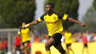 Youssoufa Moukoko war erneut an zwei Toren direkt beteiligt