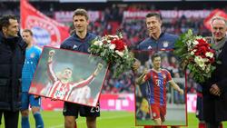 Thomas Müller und Robert Lewandowski sind in dieser Saison für den FC Bayern enorm wichtig