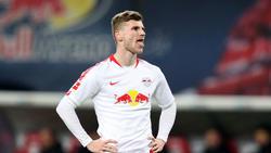 Timo Werner von RB Leipzig wird wohl vom FC Bayern umworben