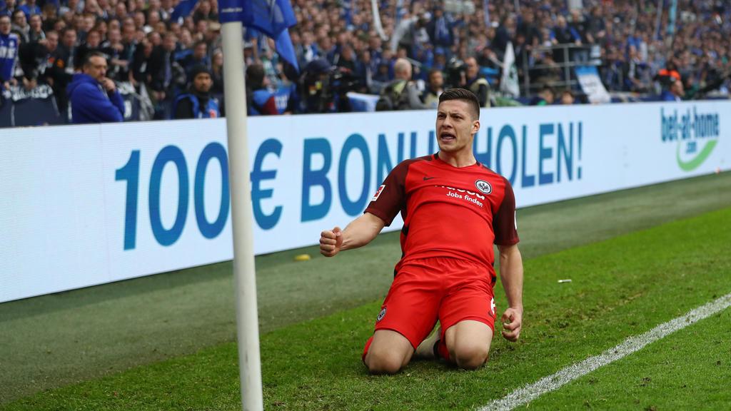 Eintracht Frankfurt: So lief der irre Transfer-Poker um Luka Jovic