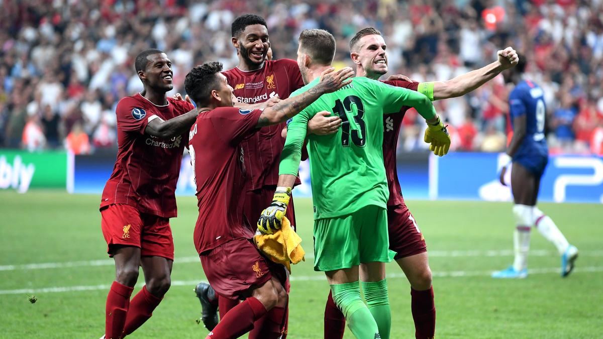 Der FC Liverpool durfte sich bei Adrián bedanken
