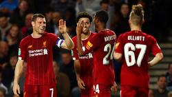 Der FC Liverpool trifft im Achtelfinale des Liga-Pokals auf den FC Arsenal