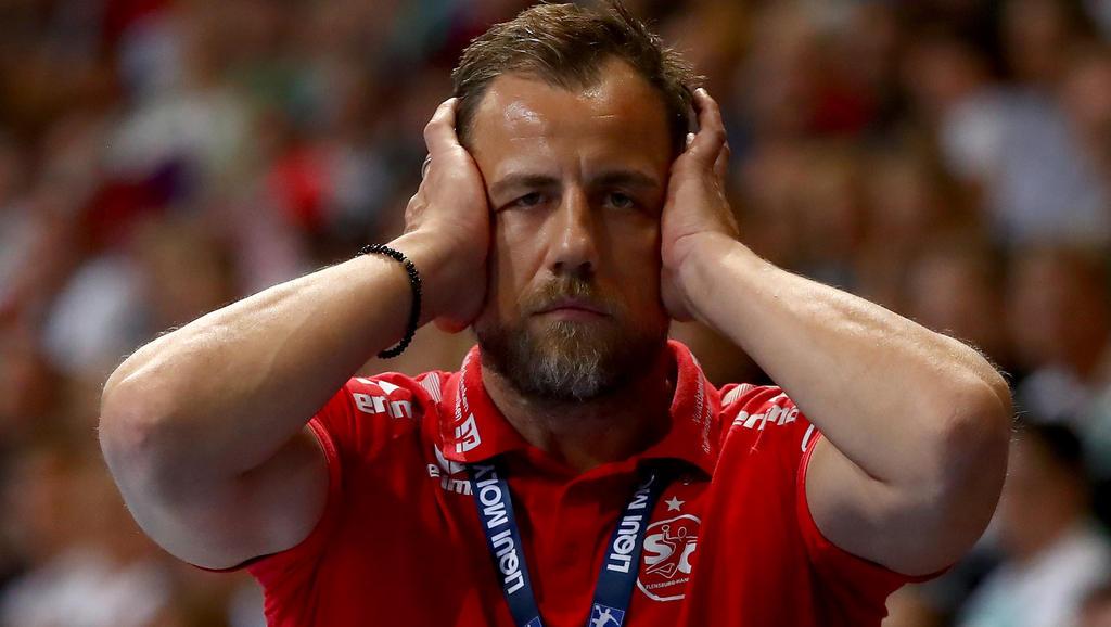 Maik Machulla musste eine Niederlage seiner SG Flensburg-Handewitt verkraften