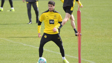 Giovanni Reyna vom BVB musste verletzt aussetzen