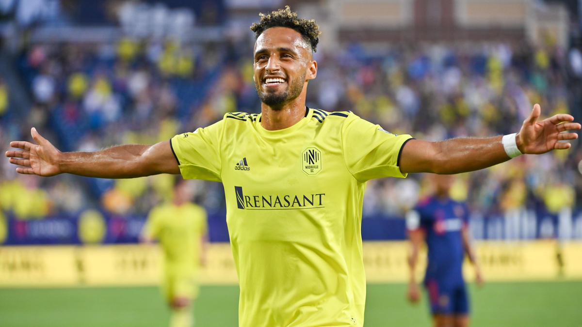 Hany Mukhtar jubelt über seinen Hattrick in der MLS