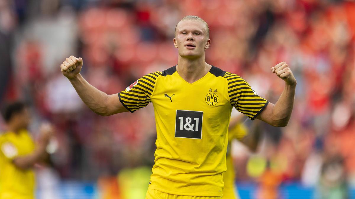 Erling Haaland erhält die höchste Gesamtwertung aller BVB-Stars in FIFA 22