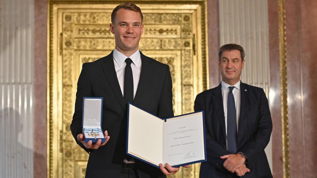 Manuel Neuer wurde ausgezeichnet