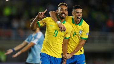 Leipzigs Matheus Cunha traf für Brasilien