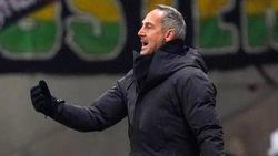 Adi Hütter gastiert mit Eintracht Frankfurt beim BVB
