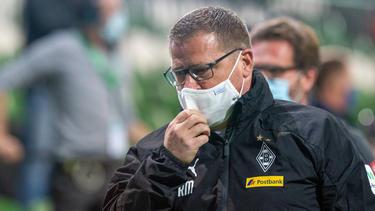 Gladbachs Sportdirektor Max Eberl hofft auf Veränderungen im Profi-Fußball