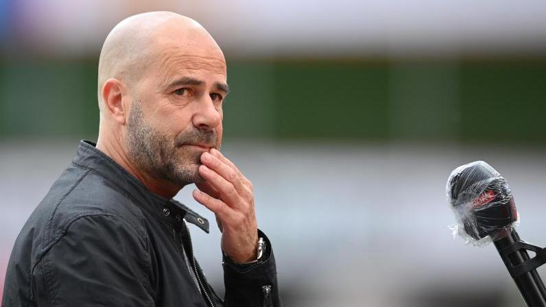 Bayer-Trainer Peter Bosz will mit den Leverkusenern noch in die Champions League