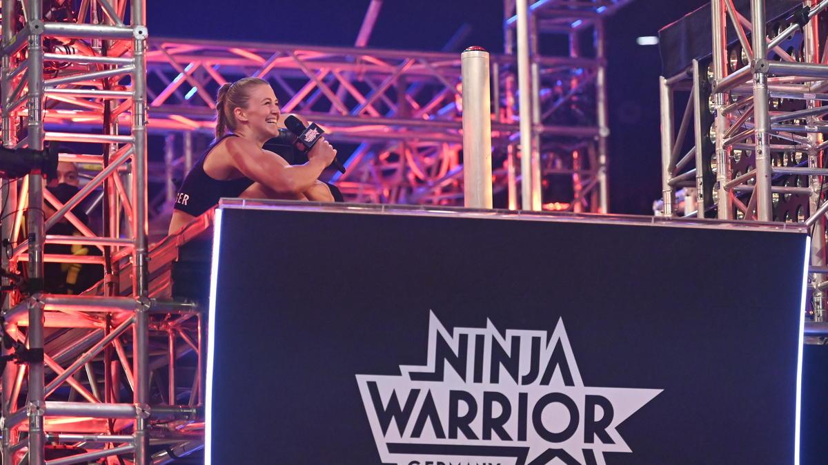 Stefanie Noppinger hat als erste Frau in der 5. Staffel gebuzzert