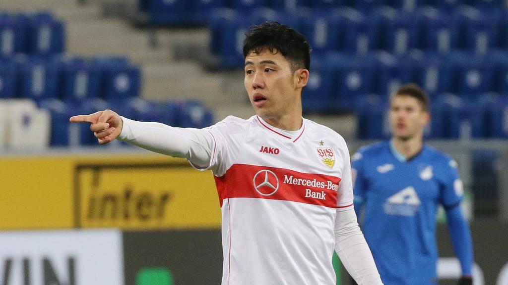Wataru Endo hält Stuttgart die Treue