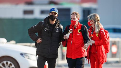 Daniel Ricciardo und Sebastian Vettel werden sich noch gedulden müssen