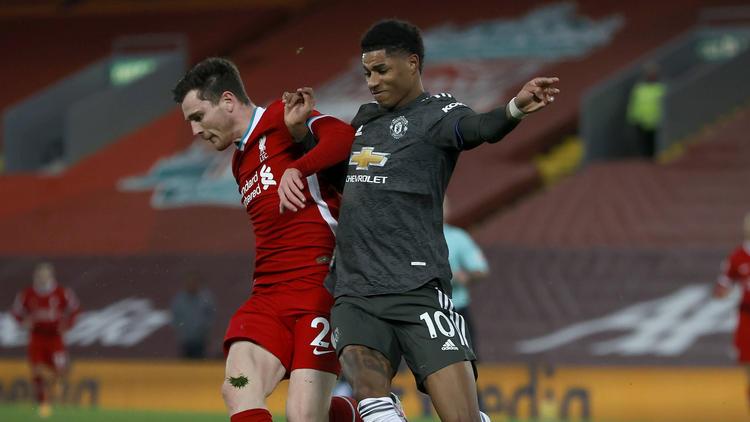 Kein Sieger im Premier-League-Kracher zwischen FC Liverpool und Manchester United