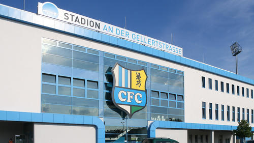 Der Chemnitzer FC steckt in einem Insolvenzverfahren