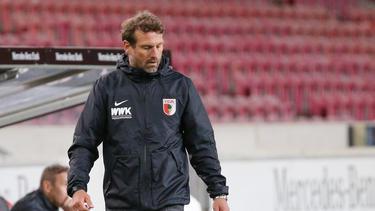 """""""Matchball"""" gegen Werder Bremen für den FC Augsburg"""