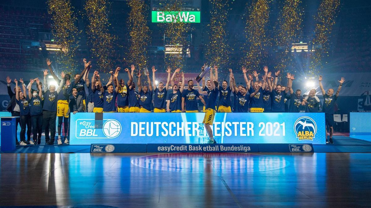 Alba Berlin siegte auswärts zum entscheidenden dritten Mal