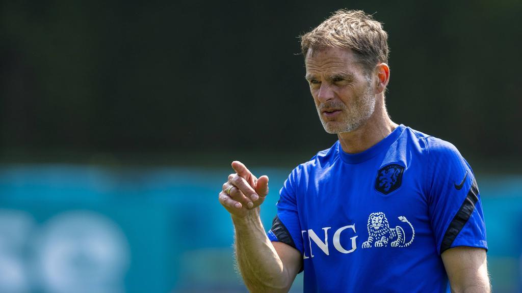Frank de Boer will seine Aufstellung noch nicht verraten